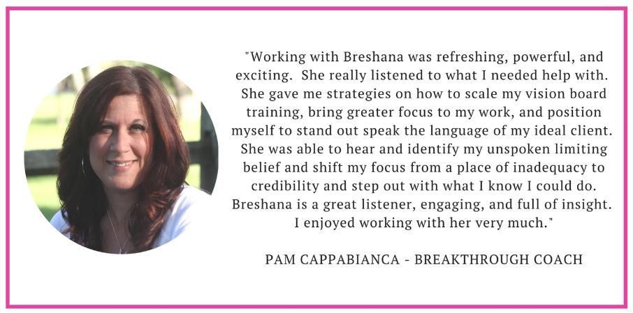Pam Client Testimonial