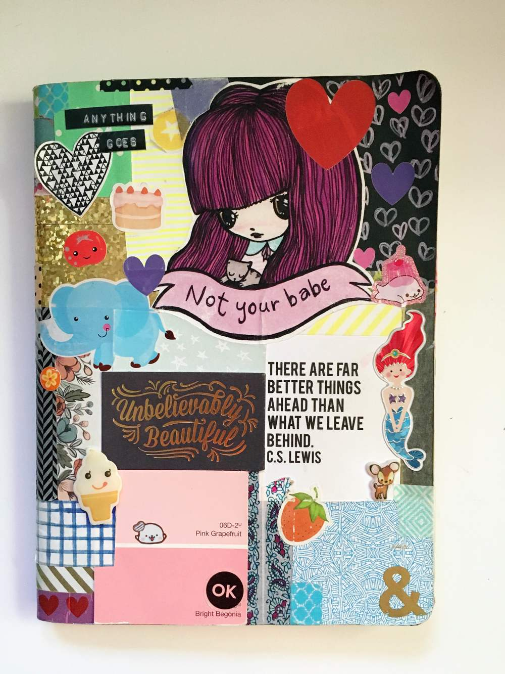 Anything Goes Art Journal Cover