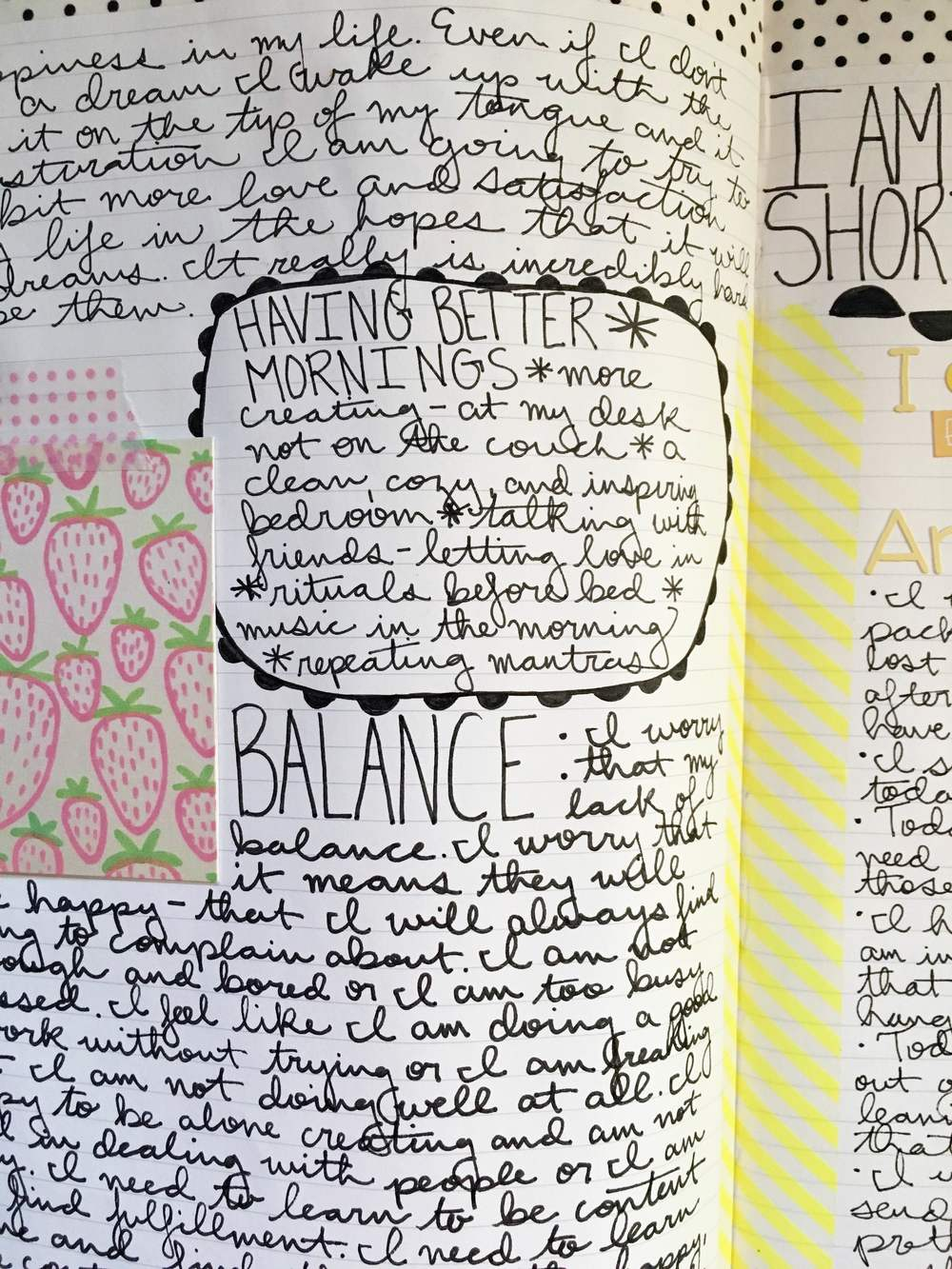Anything Goes Journal Notes