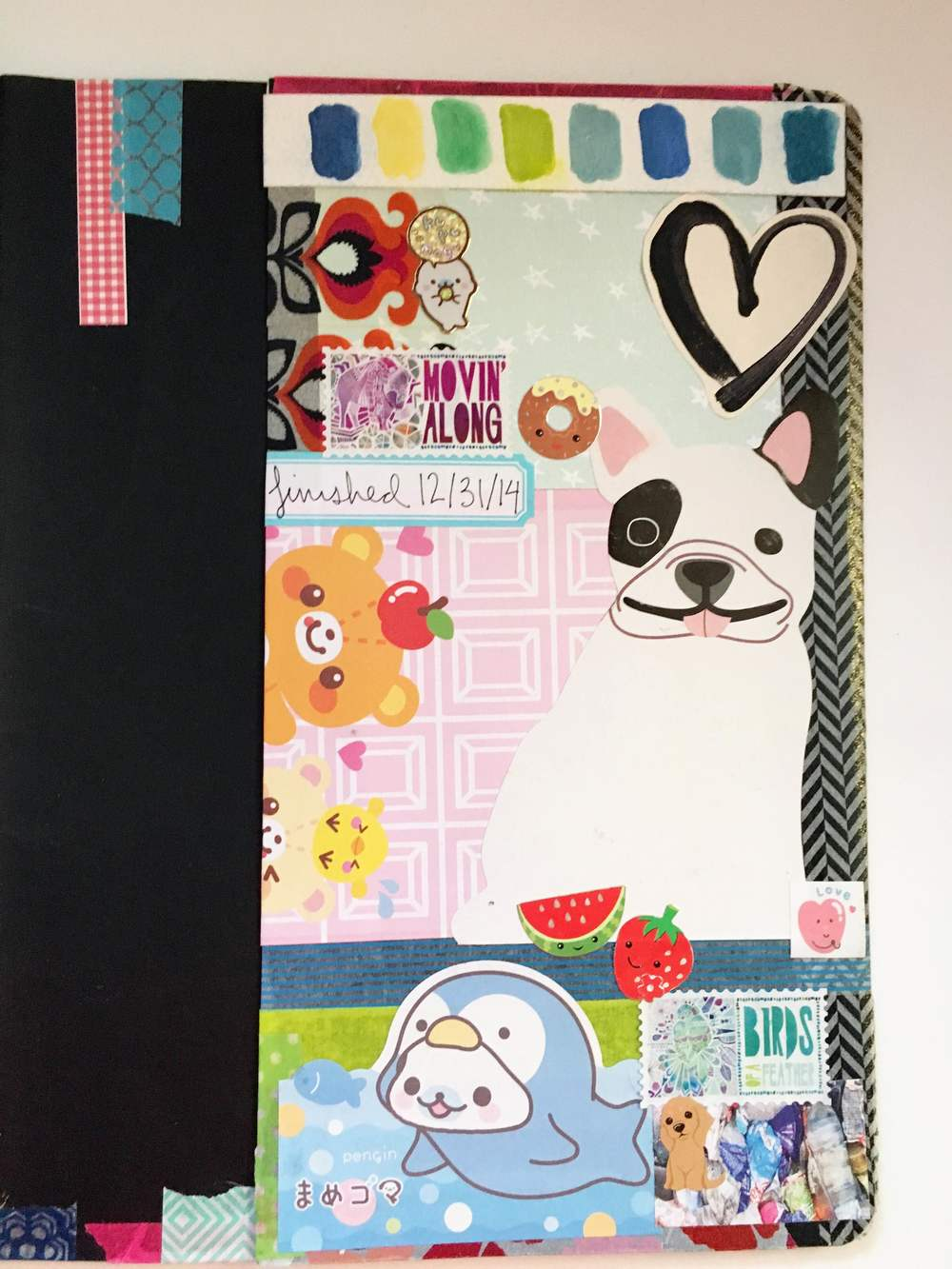 Anything Goes Art Journal Back Pocket