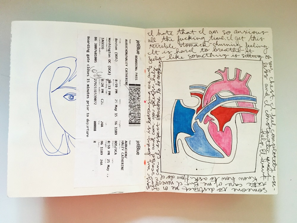 Art Journal Anatomical Heart