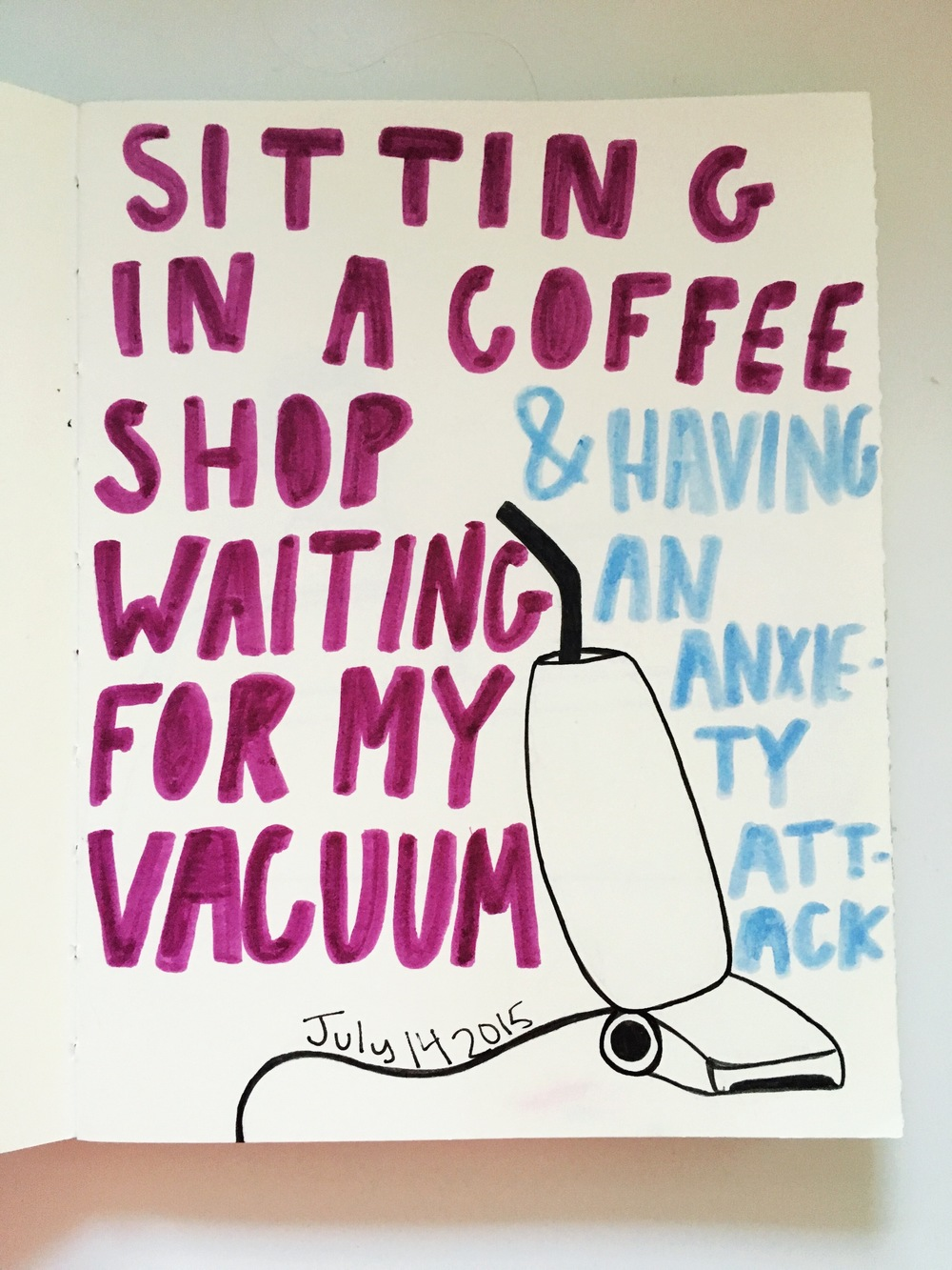 Art Journal Vacuum Cleaner