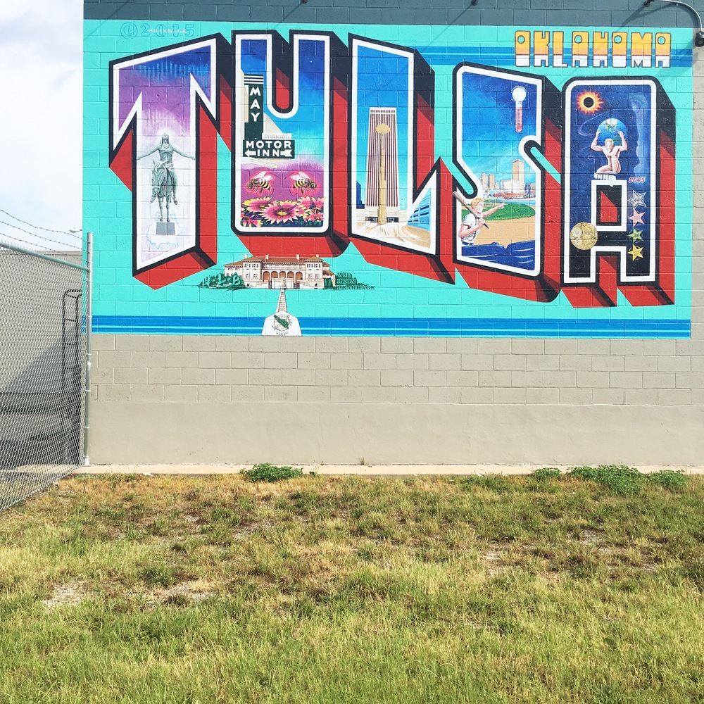 Tulsa Oklahoma mural