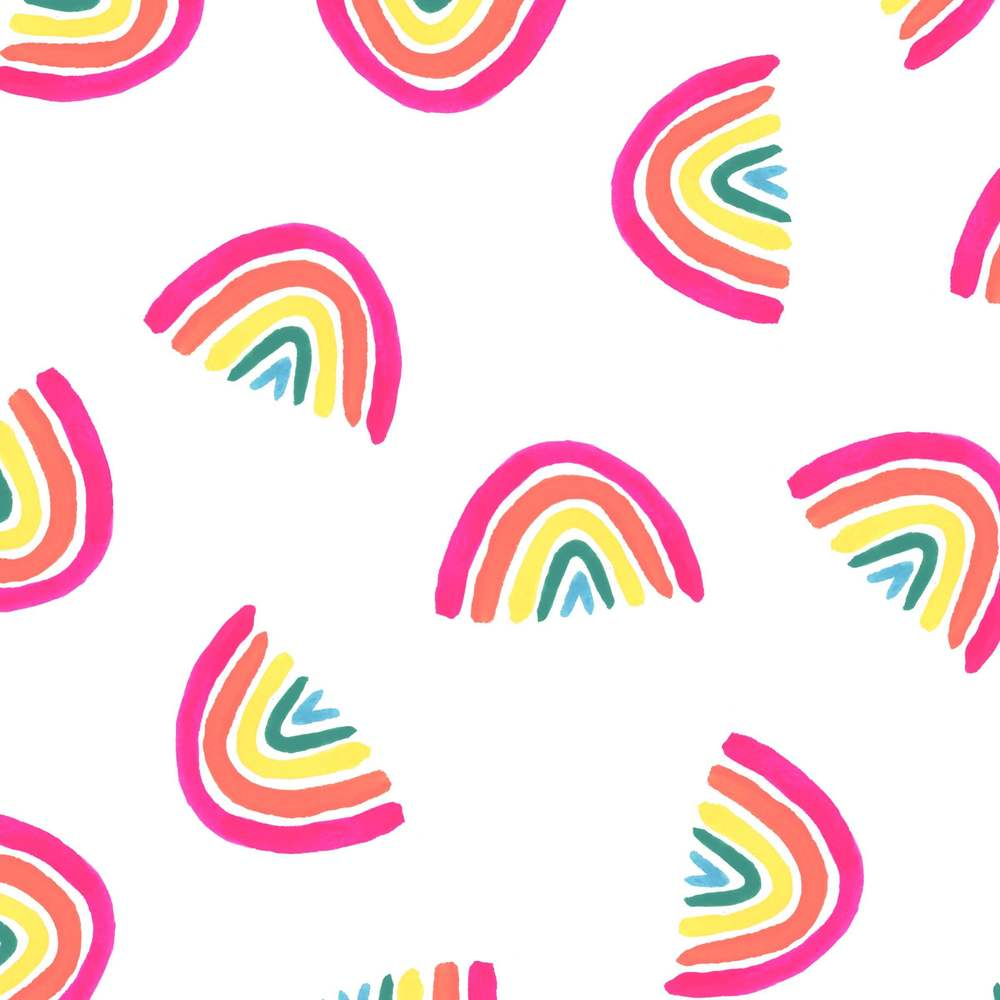 100 day project rainbow pattern