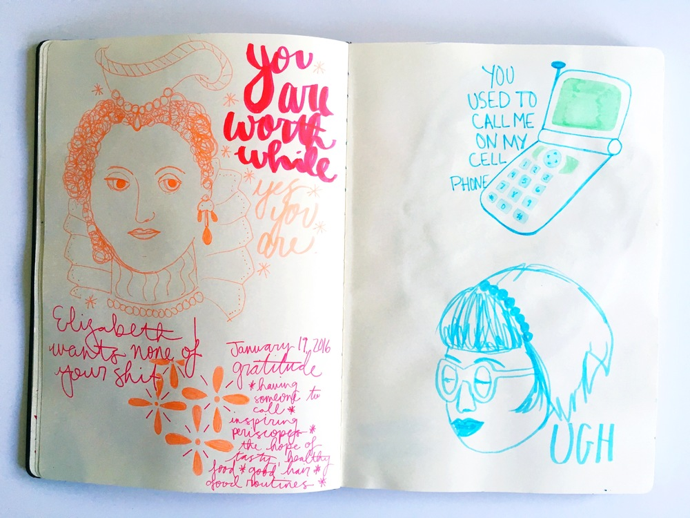 Haley Aubuchon sketchbook random