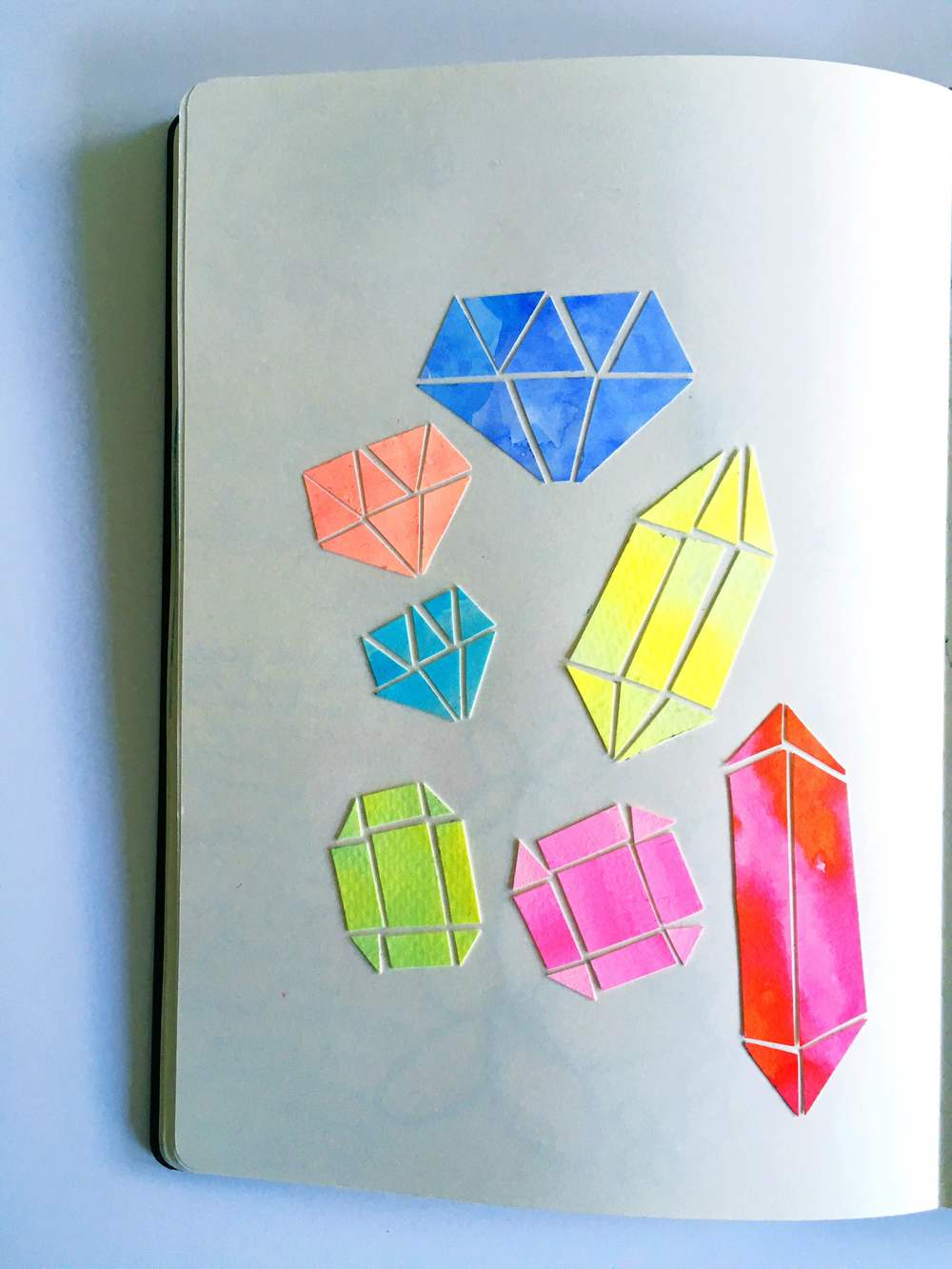 gems sketchbook