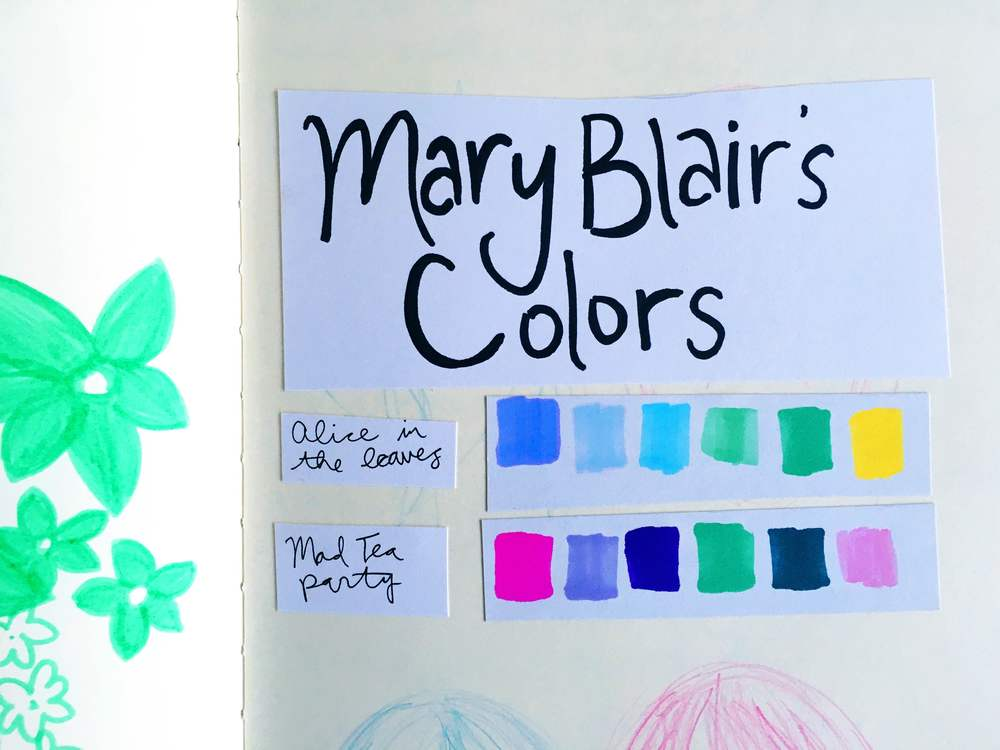 Mary Blair Palette
