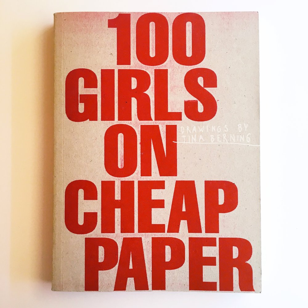 100 girls on cheap paper