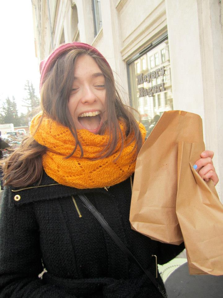 Here's an embarrassing photo of me being very excited about danishes in Denamrk.