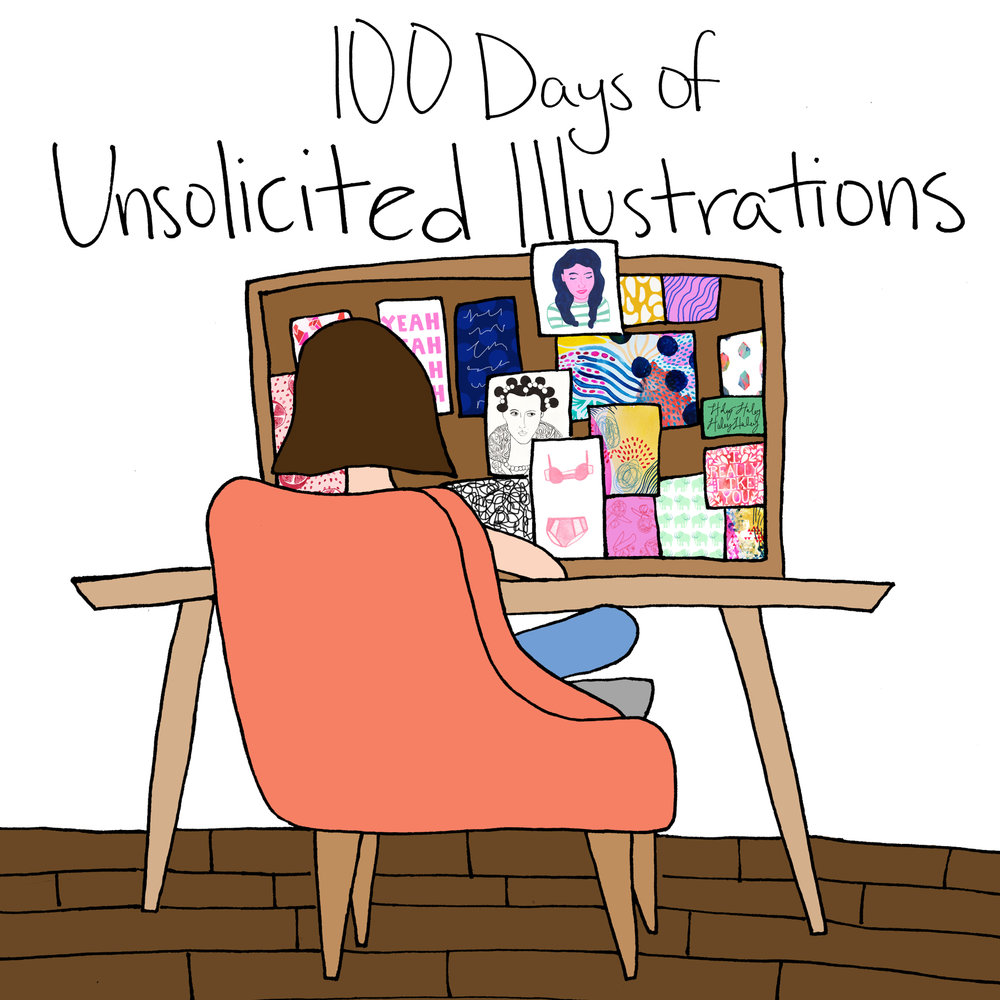 100 Days of Unsolicited Illustrations