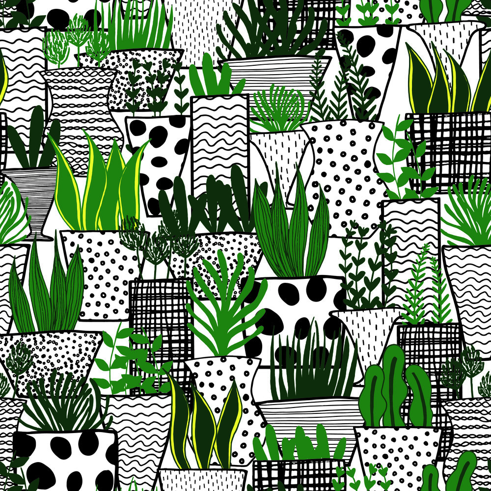 Layered Plants in Pots Pattern.jpg
