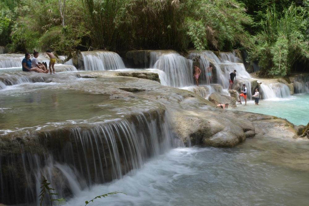 Swimming hole at Kuang Si