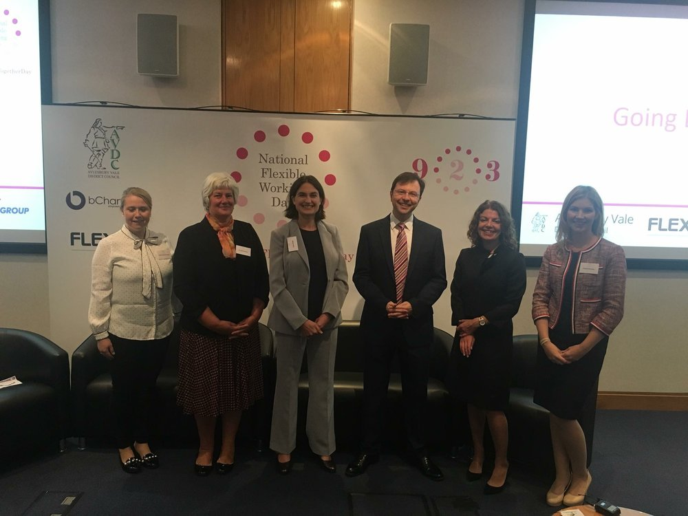 (L-R) Imelda Bamford-Carter (9-2-3's Head of Events), Louise Grisoni, Helen Wright (9-2-3 Founder), Wesley Smith, Diane Lightfoot, Victoria Marcham