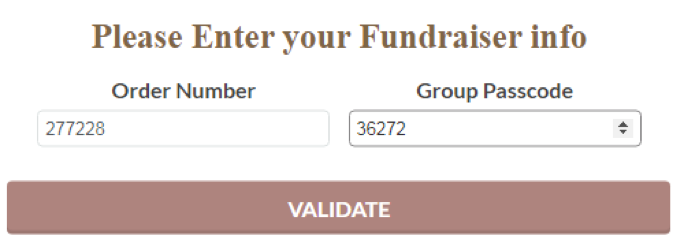 fundraiser form example