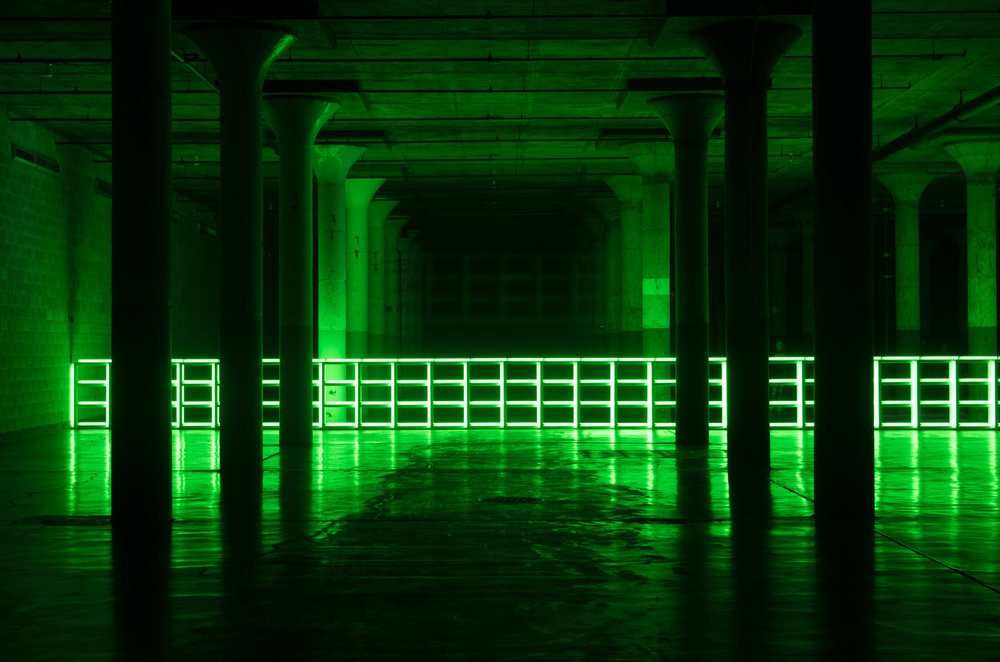 'untitled (to you, Heiner, with admiration and affection)' by Dan Flavin