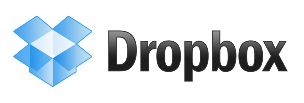 Dropbox Logo - File storage in the cloud.