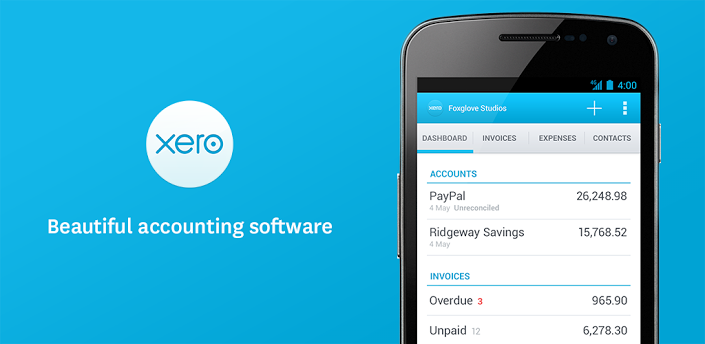 Xero Logo - Beautiful accounting software. In the cloud.