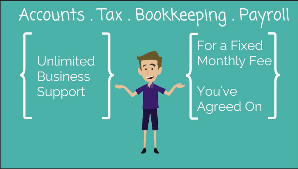 Unlimited Business Support - for a fixed monthly fee. Accounts, Tax, Bookkeeping, Payroll. DH Business Support.