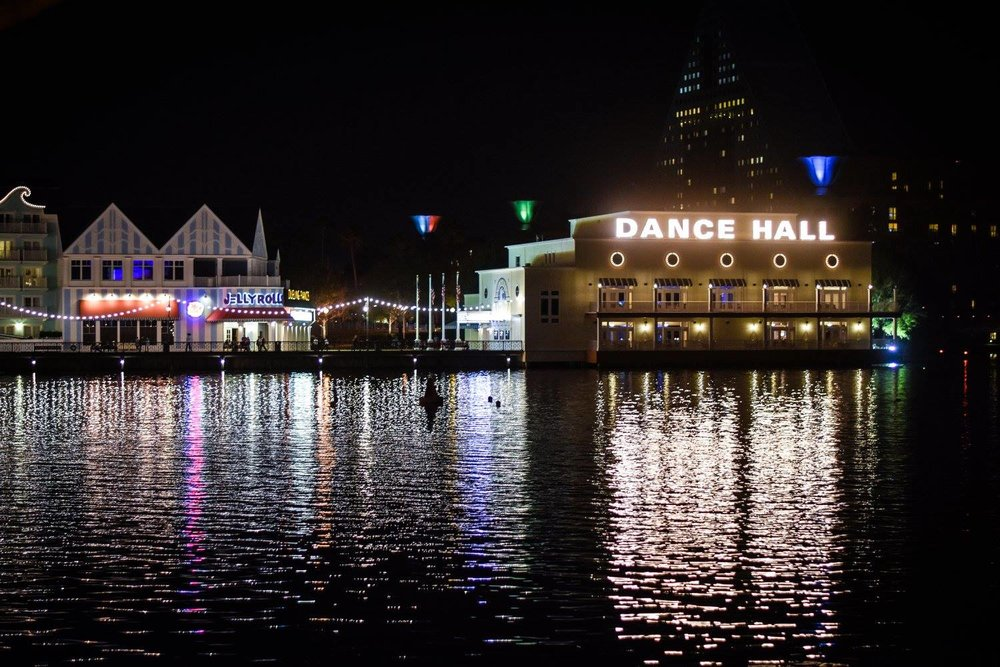 Disney's Boardwalk featuring the unforgettable nightclub (Dance Hall)