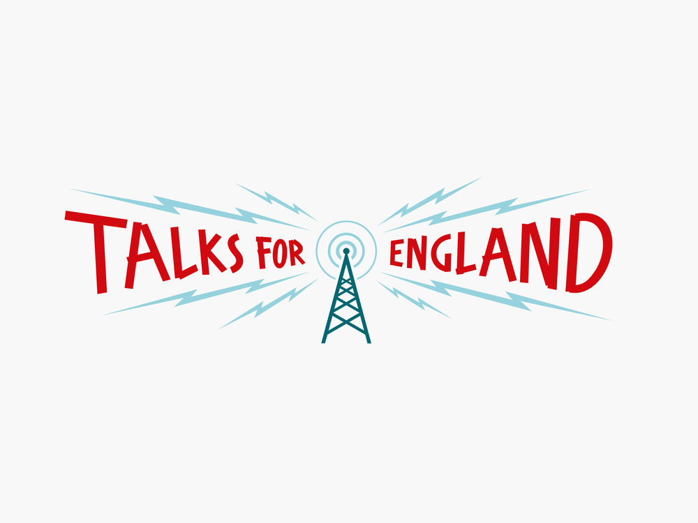 ATTFIELD Talks For England Brand Identity