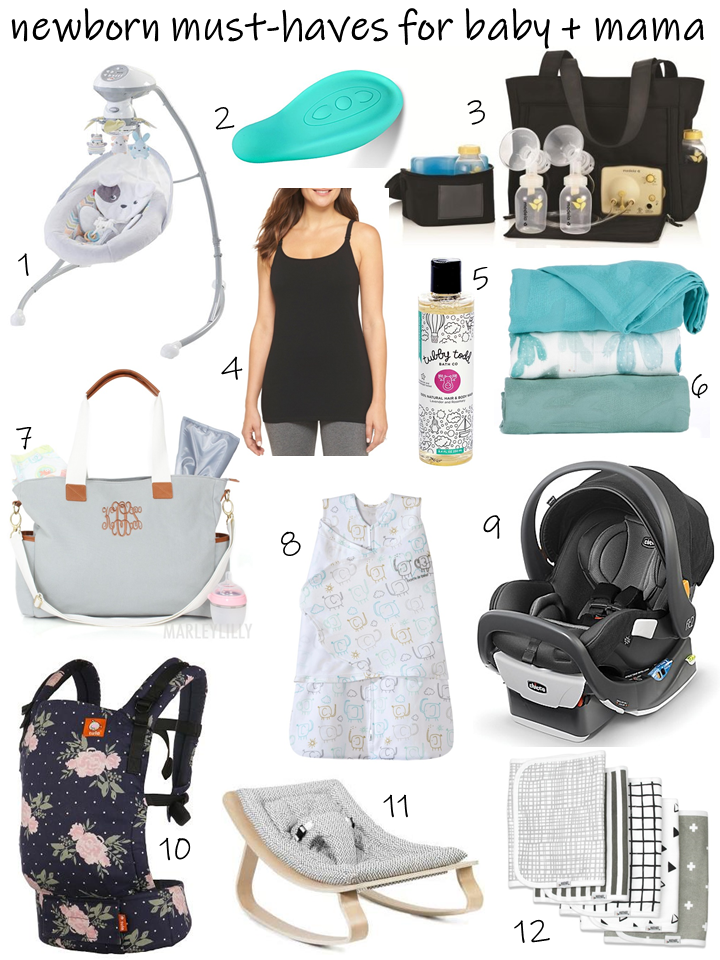 Newborn Must Haves For Baby Mama Hello Honey