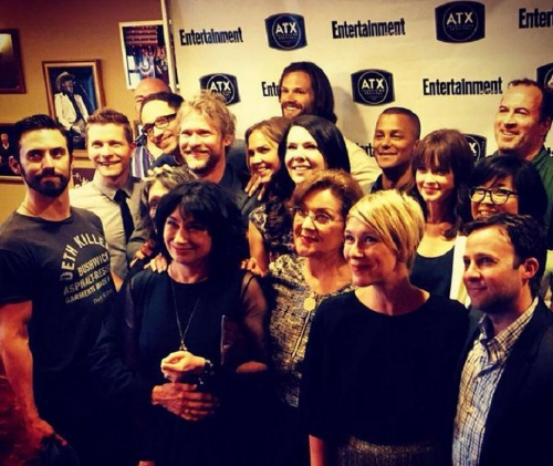 Most of the cast reunited at the ATX Festival in early June.