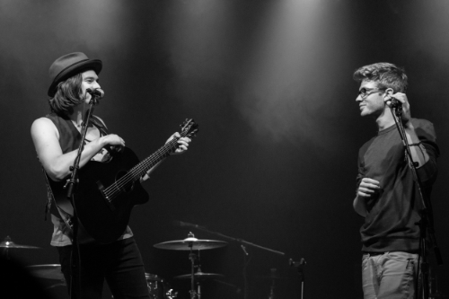 William Beckett and Sam Miller. Photo by our very own Jane!