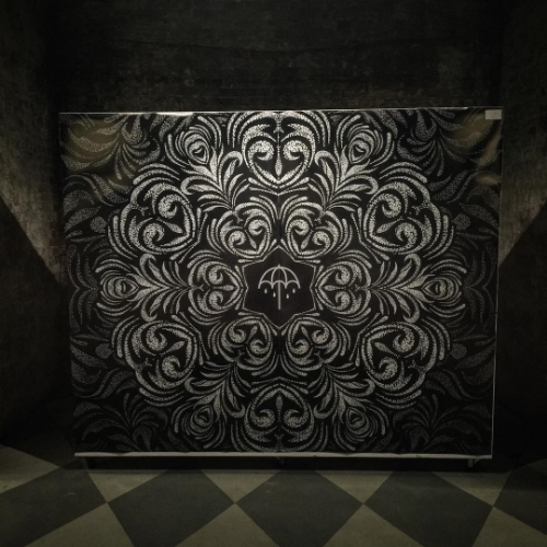 A piece she created for the launch of Bring Me the Horizon's latest album,That's the Spirit.