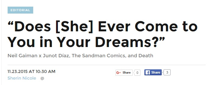If you're a Neil Gaiman fan, click this image and read Sherin's post.