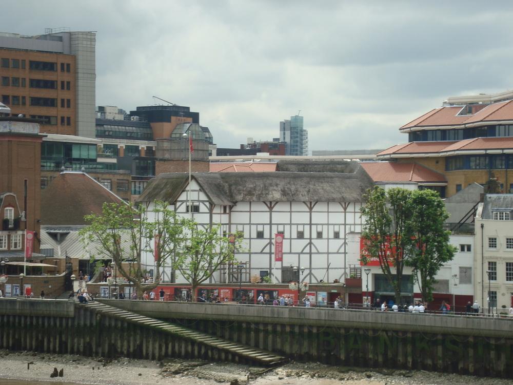 Shakespeare's Globe Theatre in London.