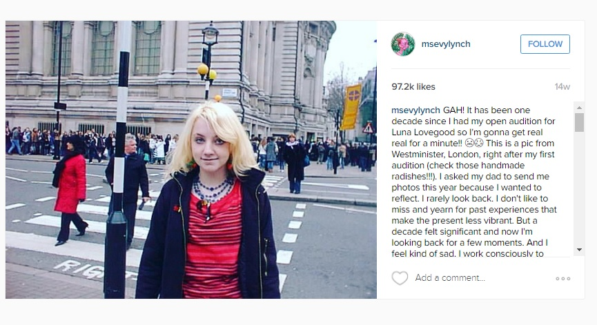 Click the image to read her full instagram caption!