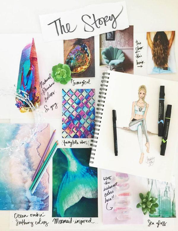 Cassey Ho's Blogilates PopFlex Mermaid Look Book.