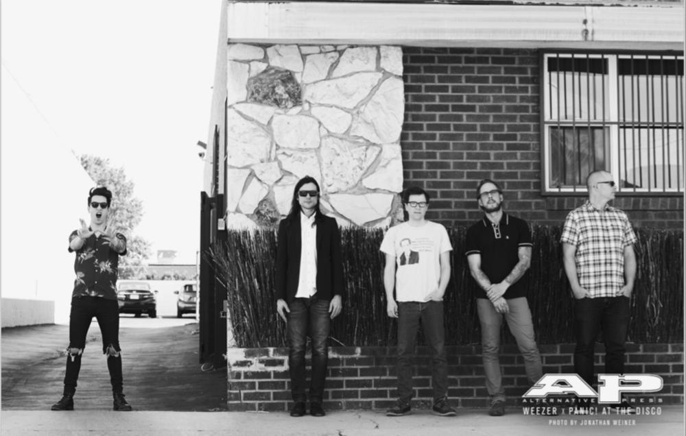 The Panic/Weezer show is going to be amaaaaaaaazing!