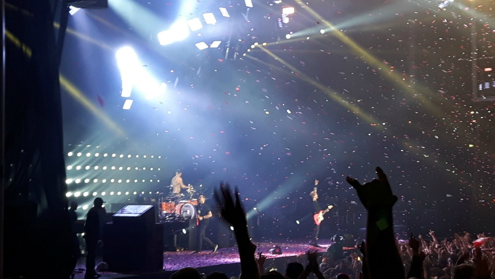 Blink 182 in August - the last show I attended as of this writing.