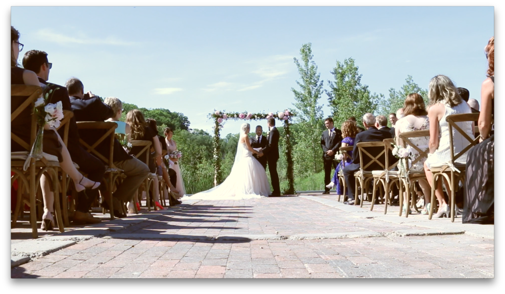 BRICKSWORKS DREAMY OUTDOOR CEREMONY