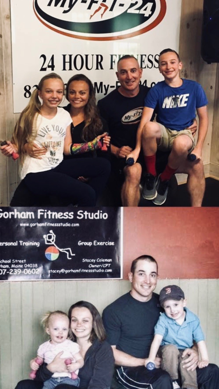 The Coleman Family (Stacey, Jesse, and the their children Bode and Zoe) started the roots of My-FIT-24 in 2007 out of their mini van and have grown it into the community it is today.