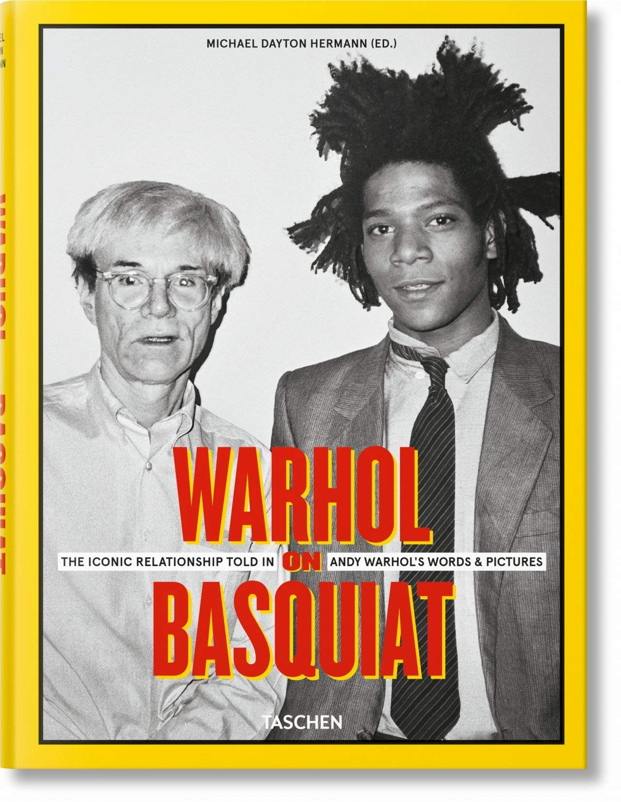 Taschen | Warhol on Basquiat: The Iconic Relationship Told in Andy Warhol's  Words and Pictures | Michael Dayton Hermann, Reuel Golden