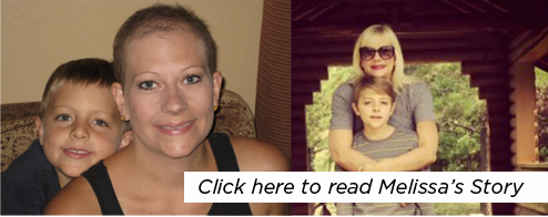Click here to read Melissa's Story