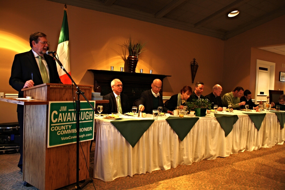 St. Patrick's Day Breakfast at Field Club, 2015