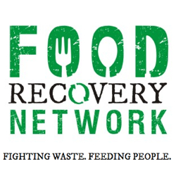 the logo for food recovery network