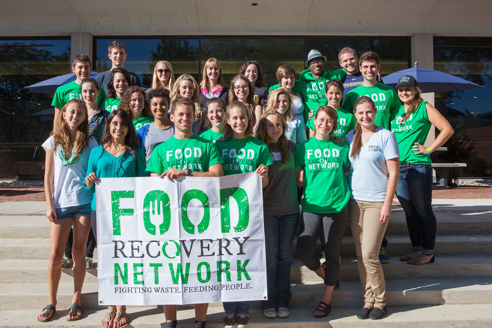 Attendees of Food Recovery Network's Fall 2014 Eastern Regional Summit at Lycoming College in Williamsport, Pennsylvania