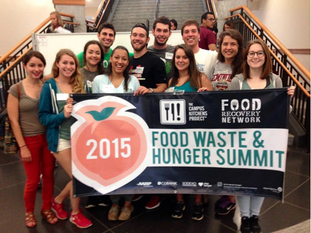"Florida State University's FRN chapters made new FRNds at the 2015 Food Waste & Hunger Summit, inspiring their ""FRNdly Neighbors"" program."