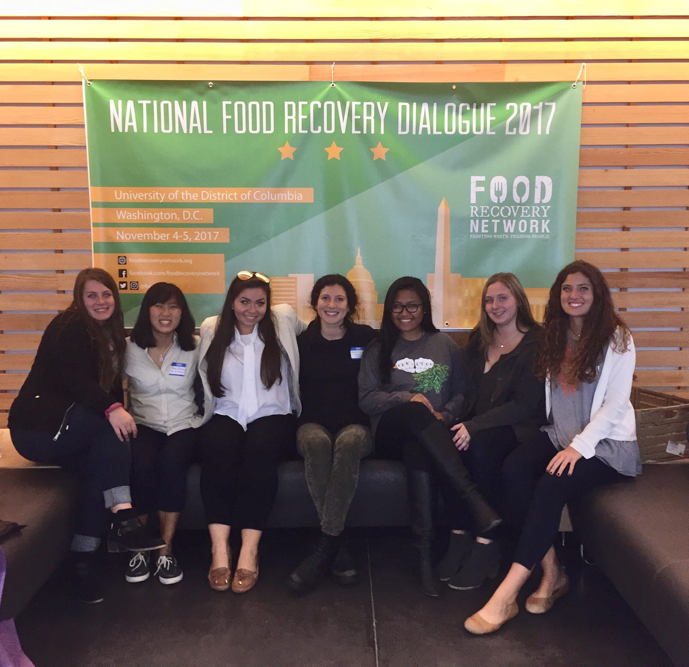 FRN at UD attended the National Food Recovery Dialogue and came back to campus energized, motivated, and inspired with new ways to help spread the mission of FRN.