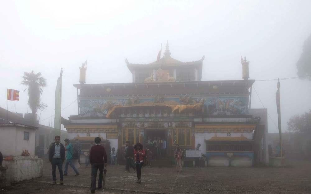 Misty Ghoom Monastery.