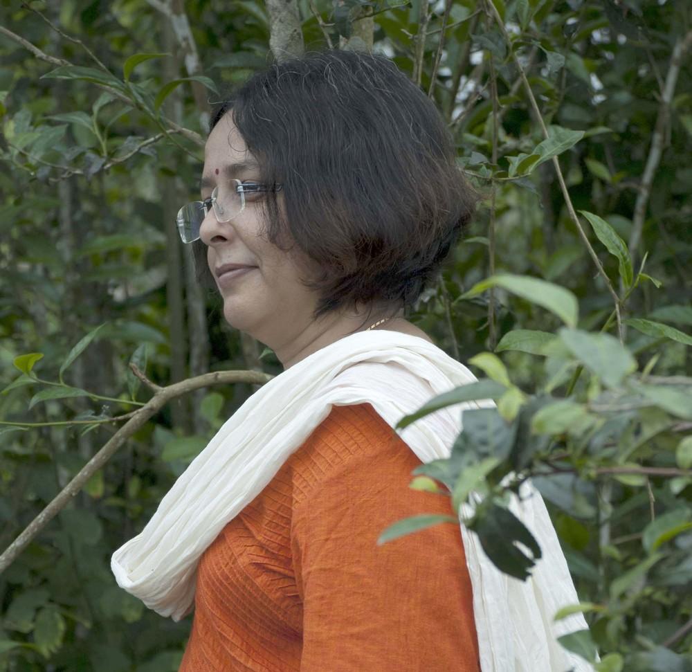 Suparna Bagchi of Harishpur Tea Estate. Photo credit: Shabnam Weber (www.theteaemporium.com)