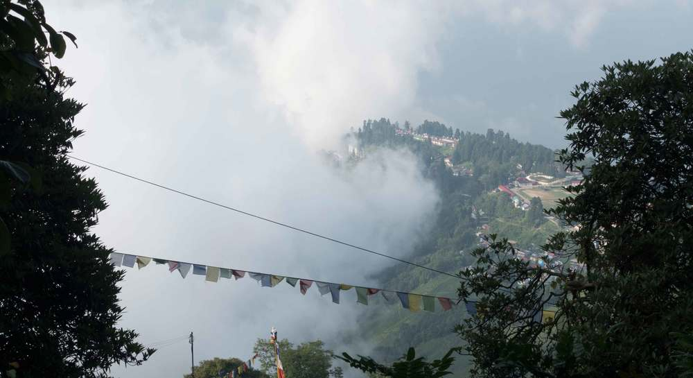 Our next destination: The beautiful mist-soaked hills of Darjeeling.