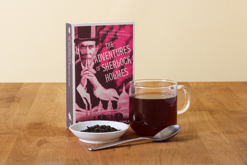 The final Sherlock Holmes blend with the book that inspired it.