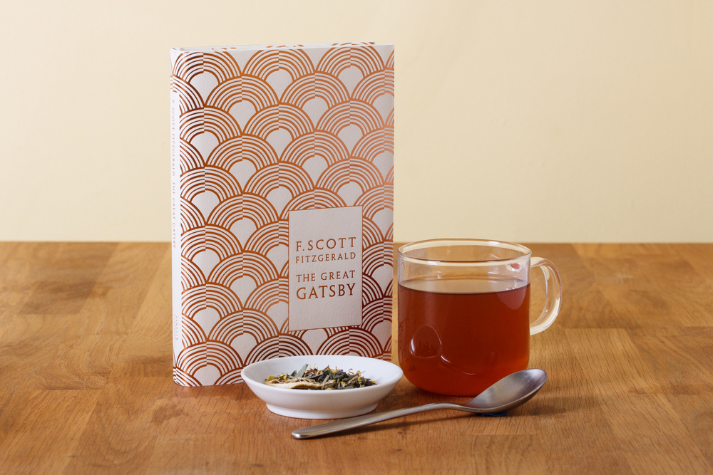 The Great Gatsby blend with the book that inspired it.