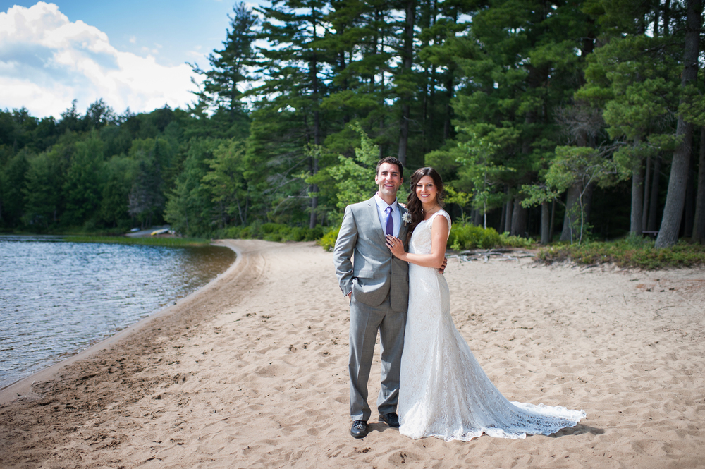 Adirondack Wedding Brown Tract Pond