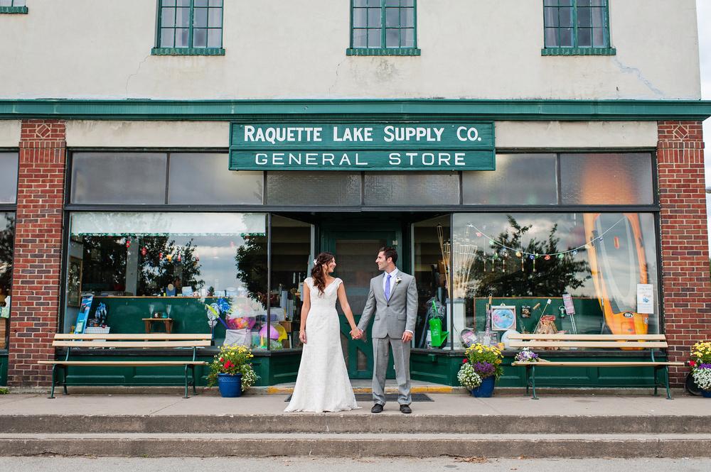Raquette Lake Adirondack Wedding